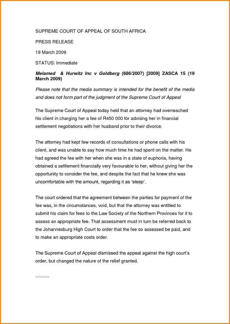 Template letters for settlement agreement negotiations