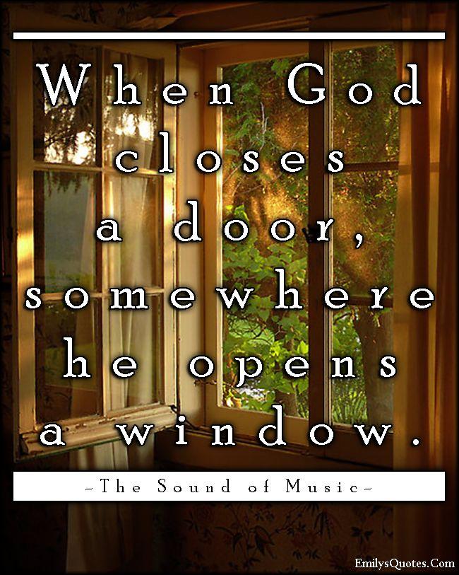 when closes door