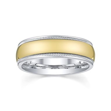 Womens 6mm Gold Wedding Band - jcpenney