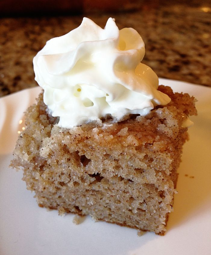 apple-spice-cake | Food-Cakes/Frosting | Pinterest