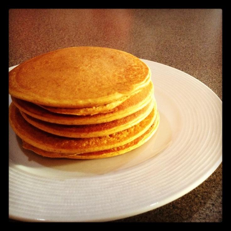 Pumpkin Protein Pancakes   Pumpkin spice ;)   Pinterest
