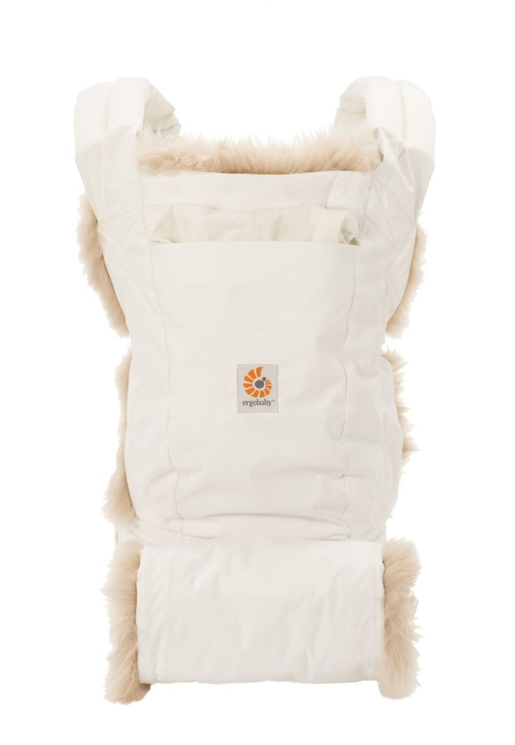 Amazon.com: ERGObaby Designer Series Carrier and Hand Muff, Winter Edition: Baby