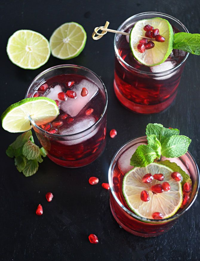 Pomegranate Mojito-- the perfect drink for your holiday events! | blog ...