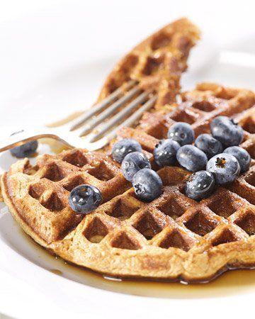 Grampy Geoff Havens's Whole-Wheat Waffles from Martha Stewart (honey ...