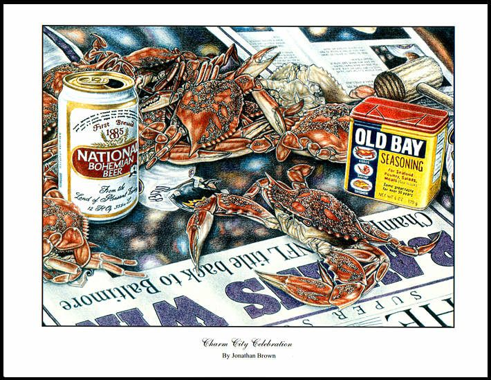 Crabs, Natty Boh & Old Bay | Salty Balty | Pinterest