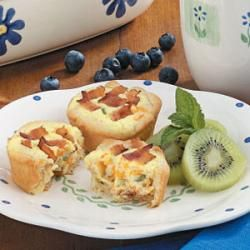 Bacon Quiche Tarts | to eat | Pinterest