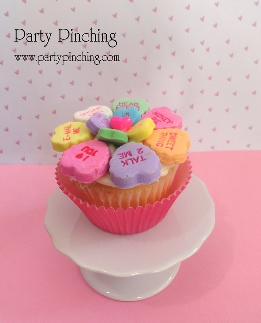 Sweetheart cupcake | Holidays! | Pinterest