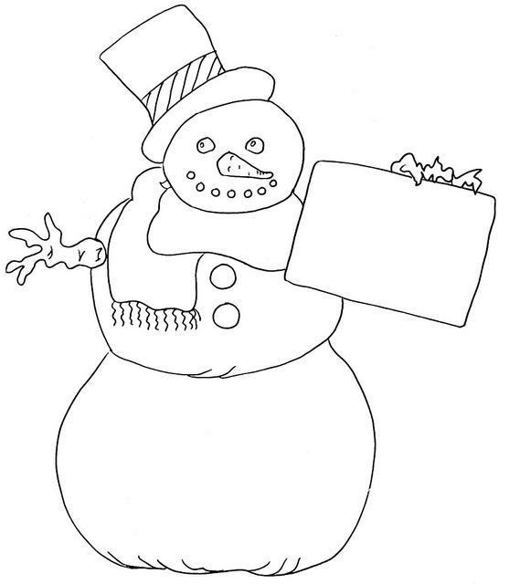 557 x 640 jpeg 55kB, Snowman | Kids coloring pages | Pinterest