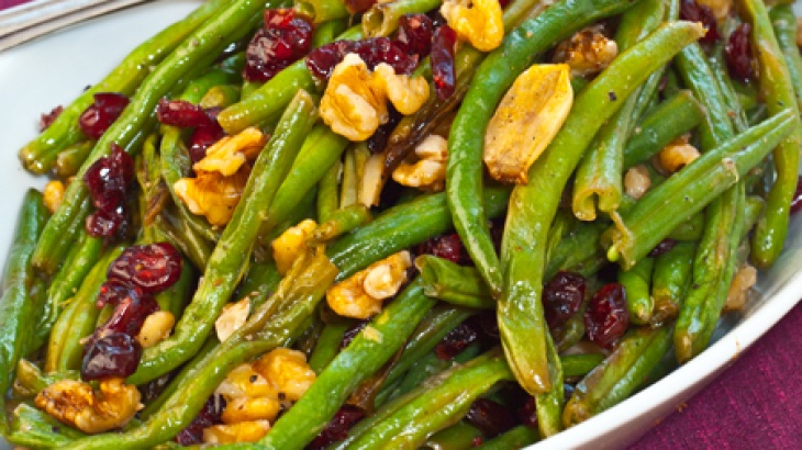 Roasted Green Beans with Cranberries | Food! | Pinterest