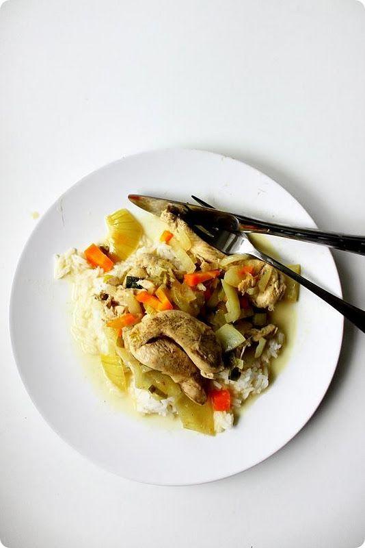 Classic French Chicken In White Wine Sauce Recipe — Dishmaps