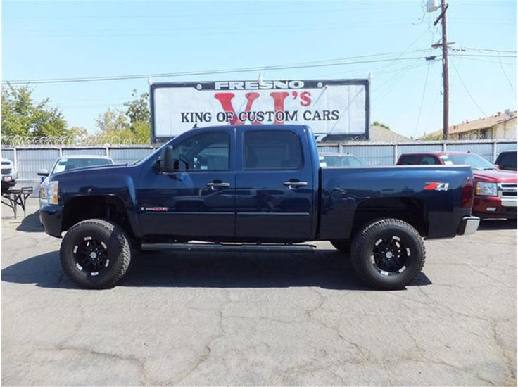 Blue lifted z71 chevrolet silverado lifted pinterest