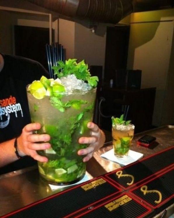 Juste un pti drink avant d'partir