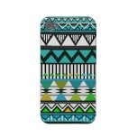 Turquoise Tribal 2 Pattern iPhone 4/4S Case-Mate C Iphone 4 Case-mate Cases by OrganicSaturation