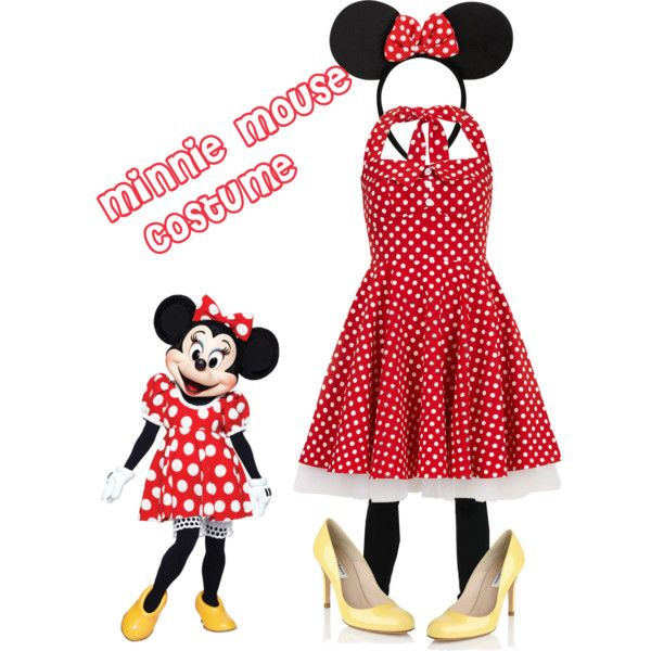 minnie mouse costume adult costumes pinterest. Black Bedroom Furniture Sets. Home Design Ideas