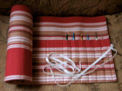 Amigurumi Bunny Pencil Holder : CROCHET HOOK ORGANIZER TUTORIAL Only New Crochet Patterns