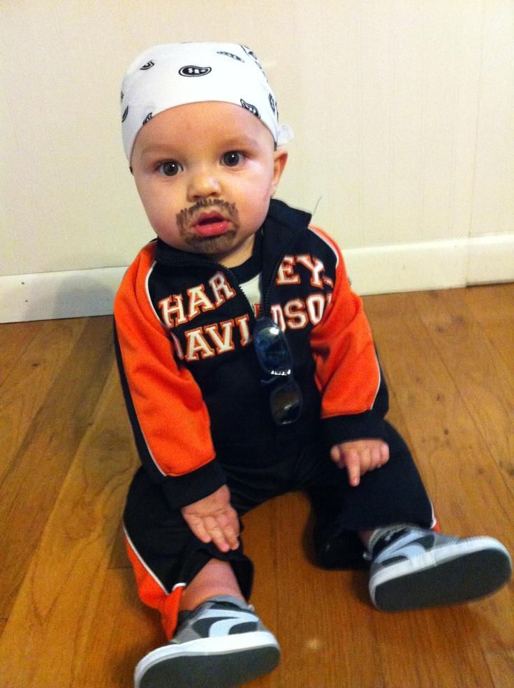 Baby Biker Dude Halloween Costume Born Wild  sc 1 st  Baby Bryone & 28 Best Photos Of Biker Baby Costume Ideas - Baby Bryone