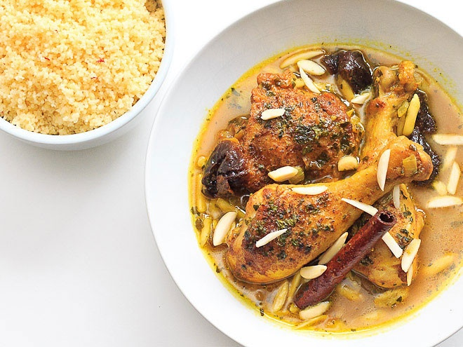 Moroccan Tagine with Saffron Couscous | Food We Love | Pinterest