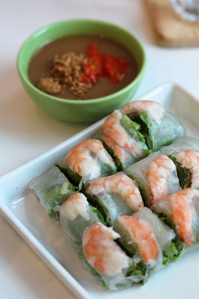 Vietnamese Shrimp and Pork Summer Rolls at Vietnamese and More ...