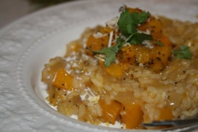 Thyme Roasted Butternut Squash Risotto | Dinner Ideas | Pinterest