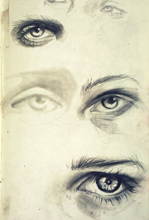 Insanely good eyes art drawing inspiration pinterest for Good sketches to draw