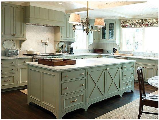 Larry Hook light blue kitchen  Home sweet Home ?  Pinterest