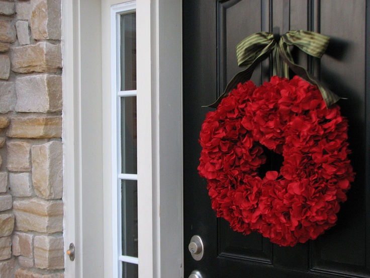 Christmas wreath hanukkah holiday wreaths front door for Front door xmas wreaths