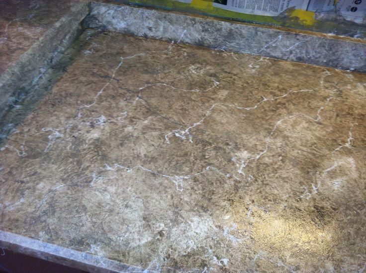 Simulated Granite Countertops : Faux granite countertops