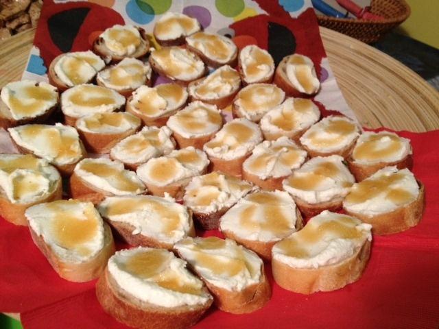 Bruschetta With Ricotta, Honey And Lemon Zest Recipe ...