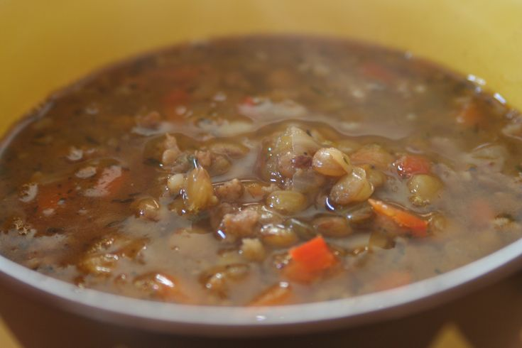 Sausage And Lentil Soup Recipes — Dishmaps