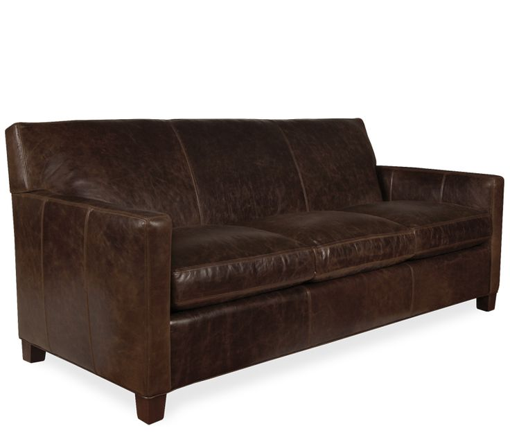 Distressed Leather Queen Sleeper Sofa For The Home Pinterest