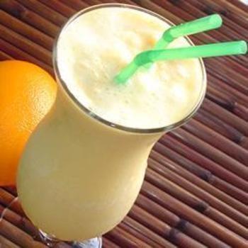 Easy Orange Cream Slush | Drinks, Shakes, Smoothies | Pinterest