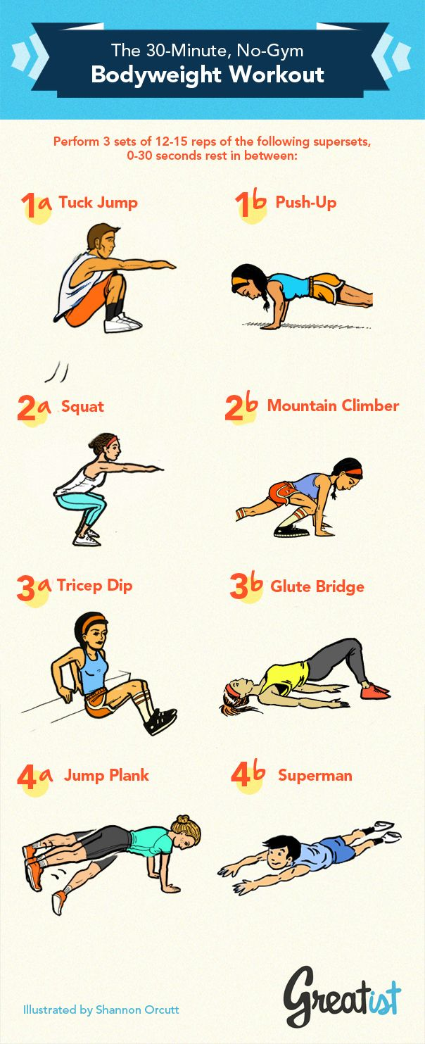 No-Gym Bodyweight Workout
