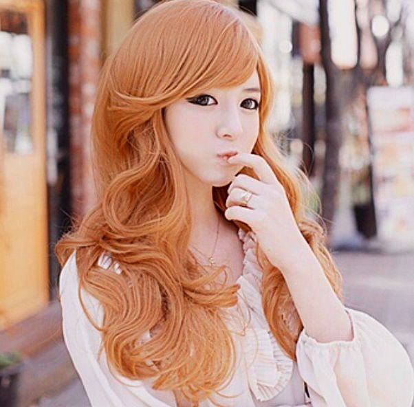 Ulzzang hair color | Korean hairstyle | Pinterest F(x) Amber Red Light