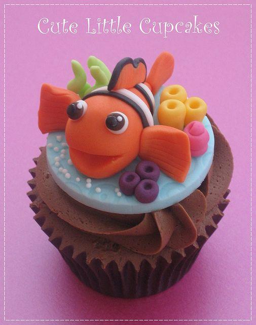 Nemo Cupcake | Flickr - Photo Sharing!