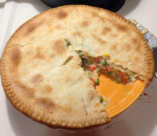 Easy Chicken Pot Pie | Foooood | Pinterest
