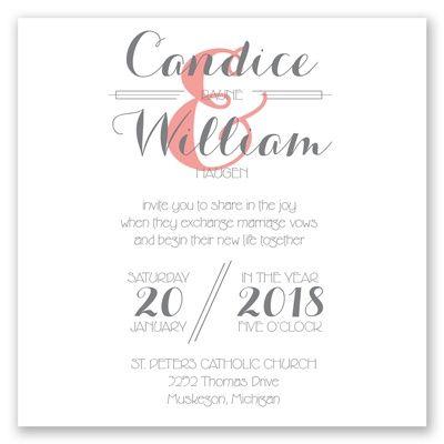 style wedding invitation david tutera at invitations by dawn
