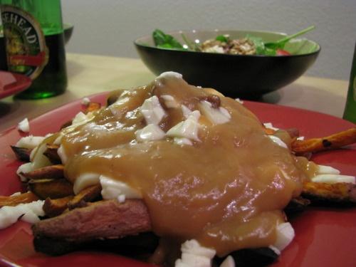 Sweet Potato Poutine | the art of Eating | Pinterest