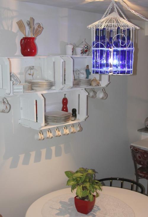 decoracao cozinha nichos : decoracao cozinha nichos:Nichos de caixote