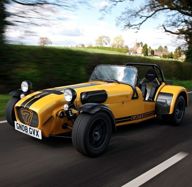 What Is Caterham Like: Caterham Super Seven Picture
