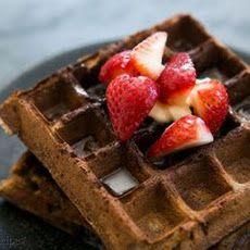 Buckwheat Waffles Recipe | Breakfast | Pinterest