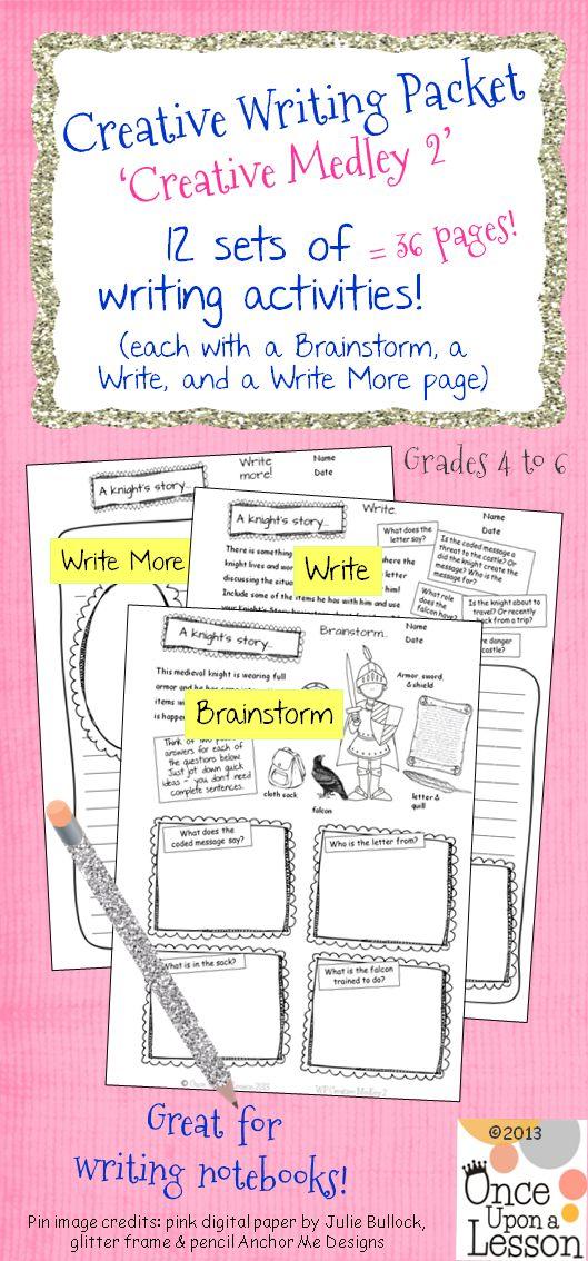 Write my kinds of creative writing