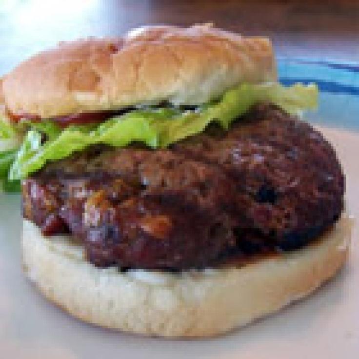 Cheddar Bacon Hamburgers | Summer Recipes | Pinterest