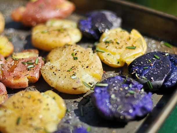 Grilling: Smashed Potatoes | Serious Eats : Recipes