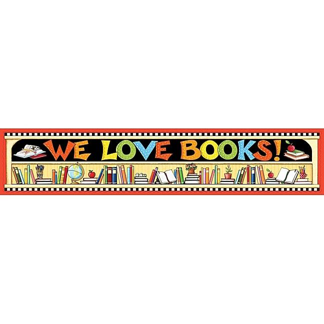 We Love Books Banner