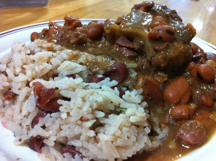 Jamaican Rice and Peas | jamacian food | Pinterest