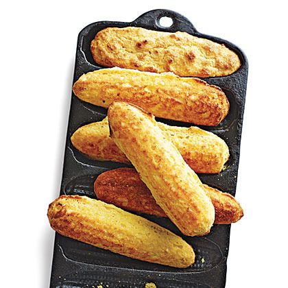 Corn Bread Sticks by Cooking Light | Southern Cuisine | Pinterest