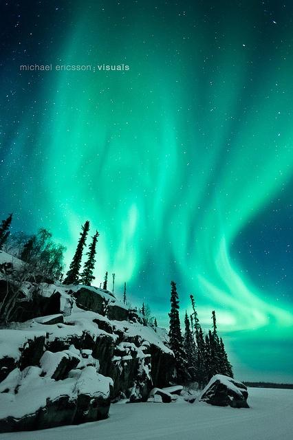 Aurora Borealis by mericsso, via Flickr