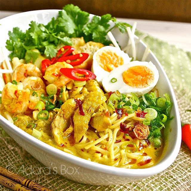 curry thai chicken laksa homemade with mess quick chicken laksa recipe ...