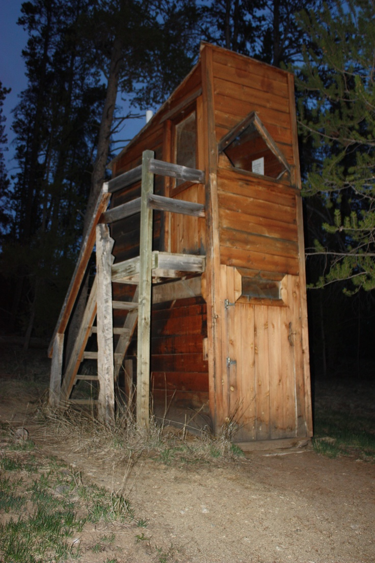 Double decker outhouse outhouses pinterest for Outhouse pictures