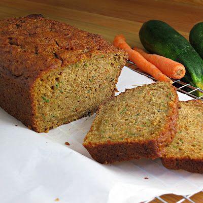 Carrot Zucchini Bread | Alida's Kitchen